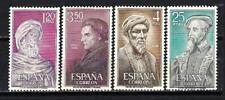 Spain 1967 Yvert n° 1444 à 1447 Celebrities national new 1st choice
