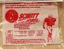NEW Schutt Pro-Guard Clips & Hardware - dated late 1990's