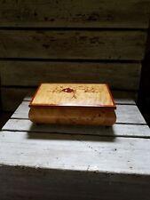Wooden Music box. A.Gargiulo & Jannuzzi, Sorrento Italy
