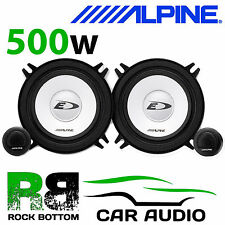 "ALPINE PEUGEOT 205 1997 On 5.25"" 13cm 500 W Car Component Rear Side Speakers"