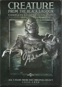 Creature From The Black Lagoon Legacy Collection DVD signed by Julie Adams ID#28