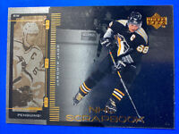 1999-00 Upper Deck NHL Scrapbook #SB-4 Jaromir Jagr Pittsburgh Penguins Insert