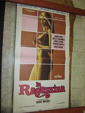 LOCANDINA ORIGINALE DEL FILM LA RAGAZZINA 1° EDIZIONE GLORIA GUIDA