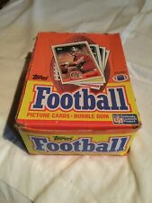 1988 Topps Football Picture Cards - Open Box
