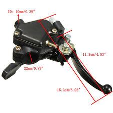 Droit Pouce Gaz Double Levier De Frein Pour Mini Moto Quad Pit Bike VTT 22mm 7/8