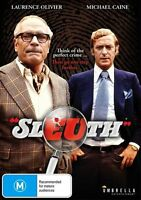 Sleuth (DVD) THRILLER Laurence Olivier Michael Caine [All Regions] NEW/SEALED