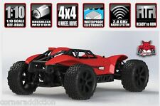 Redcat Racing Blackout Xbe Pro 1/10 Brushless Electric Rc Buggy Red
