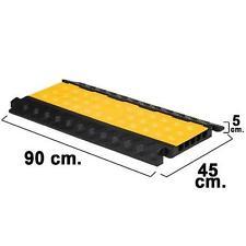 Pasacables para suelo 5 canales 90x50x5 cm. de Wolfpack.