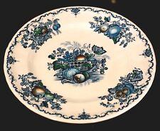 Masons Fruit Basket Blue Lunch Plate