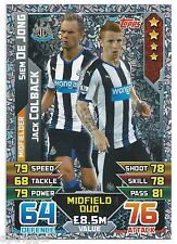 2015 / 2016 EPL Match Attax Duo (450) MATA / YOUNG Manchester United