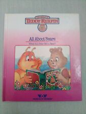 """Teddy Ruxpin """"All About Bears"""" Book only"""