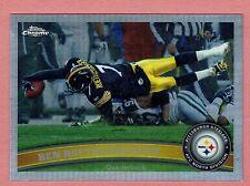 2011 Topps Chrome Football #120 Ben Roethlisberger Refractor Steelers NMT