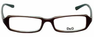 Dolce & Gabbana Designer Reading Glasses DG1113-651 in Wine/Green 51mm