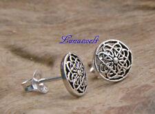 Ohrstecker Keltische Blume des Lebens Silber 925