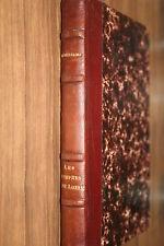ANNIE PORTGAMP  LES NYMPHES DE LOIRE   1942   BELLE RELIURE BON ETAT