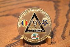 US Army Distance Learning Center Fort Monroe, Virginia Challenge Coin