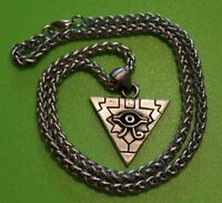 Eye of Horus Pewter Pendant Necklace on chain - Protection - Power - Health