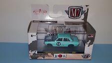 1/64 M2 AUTO JAPAN 1969 DATSUN NISSAN BLUEBIRD 1600 SSS #12 TURQUOISE #32500 Q4