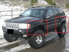 JEEP GRAND CHEROKEE WJ 1999 - 2004 WHEEL ARCH - FENDER FLARES EXTENSIONS NEW
