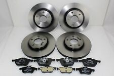 Original Brake Discs + Brake Pads Front+Rear Ford Focus - C - Max 59992200