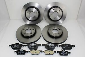 Original Brake Discs + Brake Pads Front+Rear Ford Focus - C - Max 59992200
