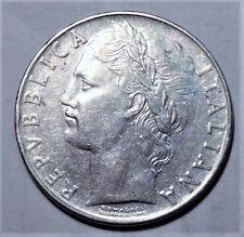 Repvbblica Italiana L.100 1956R Italian Italy Coin