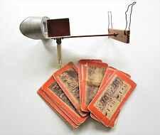 Antique Underwood Stereoscope View Finder 3D Photo Viewer 18 Cards Jesus Photos