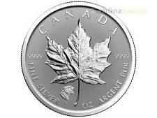 5 $ $ Foglia Acero Privy Marchi Cougar Canada 2017 1 oncia d'argento Reverse