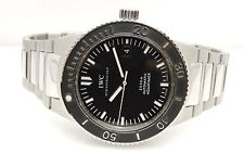 IWC Men's Aquatimer GST Automatic Stainless Steel Watch IW353602 42mm Black Dial