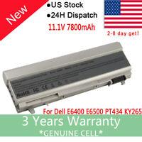 Battery For Dell Latitude E6400 E6410 E6500 E6510 Series Laptop [Tested 1 by 1]