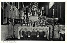 Werl Westfalen Bördelandschaft ~1940 Gnadenaltar Altar Kirche Innenraum Kapelle