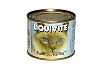 Liquivite Liquid Food for old, sick or convalescing cats/dogs 200gm tin