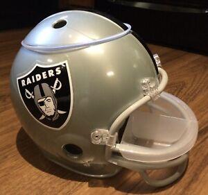 NFL Oakland / Las Vegas Raiders Full Sz Snack Helmet - Serving Tray Chips & Dip