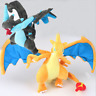 25CM Pokemon XY plush doll blue MEGA Charizard toy Pokemon Soft Doll Xmas Gift