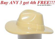 ☀️NEW Lego Minifig TAN FEDORA HAT  Outback Indiana Jones Minifig/Minifigure