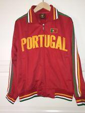 Futbol Soccer Portugal Track Athletic Warmup Running Jacket Mens Size Small