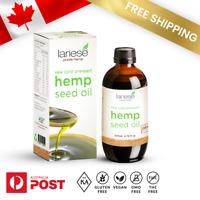 Lariese Hemp Seed Oil 200ml - CANADIAN ORGANIC GROWN - GMO, THC, CHEMICAL FREE