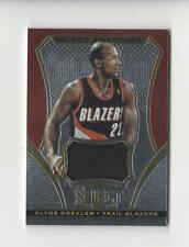 2013-14 Select Swatches #24 Clyde Drexler JERSEY Blazers