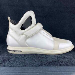 Y-3 Mens Sneakers By Yohgi Yamamoto Garde High Top Snekers Size UK9 Adidas