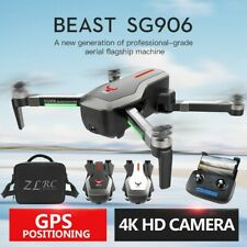 SG906 GPS Drone With 4K HD Camera 5G WIFI FPV Brushless Foldable Quadcopter +Bag