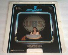 NETWORK Videodisc CED Movie NEW Sealed Unopened Faye Dunaway Robert Duvall
