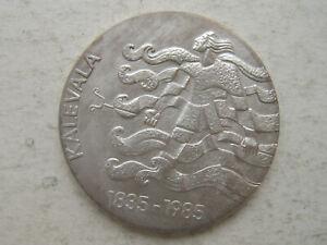 Finland Silver 50 Markkaa 1985 Kalevala    !!!