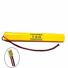 BBAT0044A Unitech AA900MAH 9.6V Ni-CD Battery Replacement for Emergency / Exit L