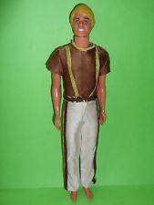 Ken malibu anni 80 vintage 1980 in vestito disco superstar discoteca super star