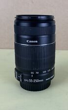 New listing Canon Ef-S 55-250mm f/4.0-5.6 Ii Is Lens