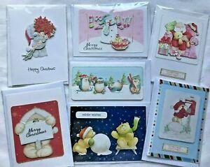 Single Handmade Cute Christmas Cards In 60 Designs £1.09 Each