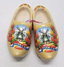 klompenfabriek Nijhuis BV Dutch Holland Wooden Shoes Clogs 18 cm 28-29 Tulip NEW