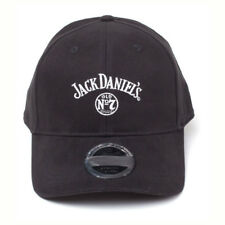 Official JACK DANIELS  Baseball Cap Snapback Hat Logo Stone Washed Denim Gift