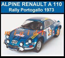 WRC 1/24 - ALPINE RENAULT A110 - Therier Jaubert - Portugal Rally - 1973