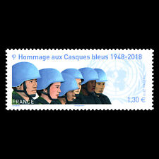 France 2018 - 70th Anniversary of the First UN Peacekeeping Mission - MNH